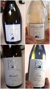 quattro vini bianchi