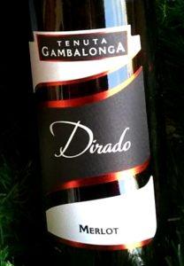 bottiglia di vino merlot
