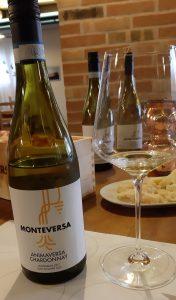 bottiglia di vino bianco Monteversa
