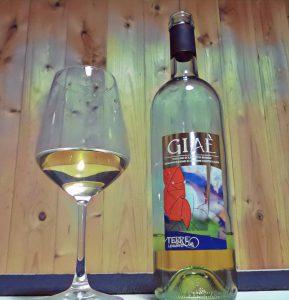 bottiglia di vino Giaè Terre di Levanto