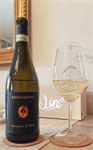 vino bianco moscato Bongioanni Wine