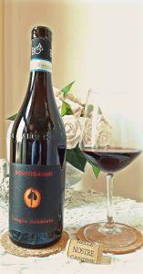 calice di vino rosso Nebbiolo Bongioanni Wine