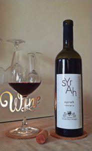 Bottiglia di Syrah Tenuta Monte San Giorgio